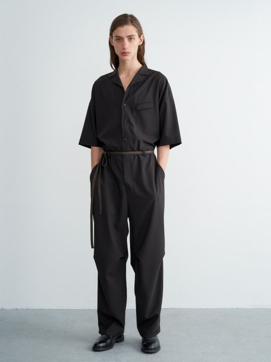 TROVE / VALO JUMP SUIT / DARK BROWN photo