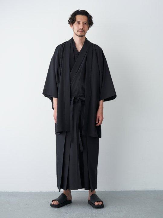 WAROBE / TROPICAL HAKAMA / BLACK photo
