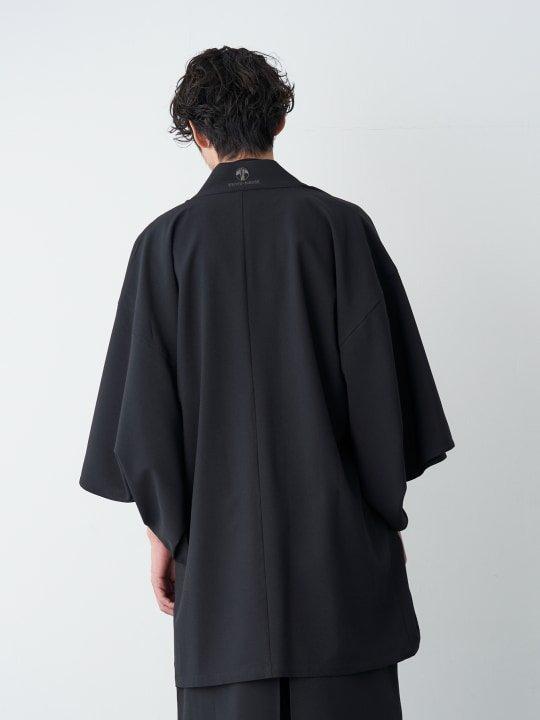 WAROBE / TROPICAL HAORI / BLACK photo