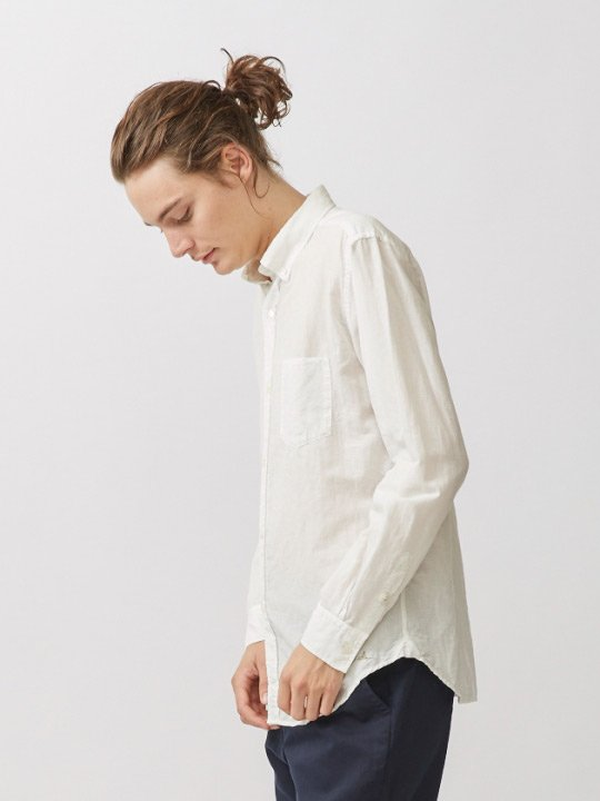 A.TAKA / BD SHIRT / WHITE