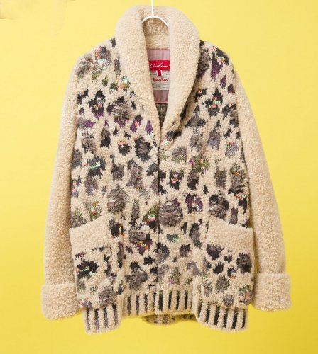 <img class='new_mark_img1' src='//img.shop-pro.jp/img/new/icons50.gif' style='border:none;display:inline;margin:0px;padding:0px;width:auto;' />《Coohem》<BR>LEOPARD TWEED COAT<BR>
