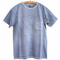 Nigel Cabourn<p>Basic T-Shirt - Special Dye<p>ベーシックTシャツ<p>(スペシャル染 / ブルーグレー)
