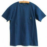 Nigel Cabourn - Basic T-Shirt<br>ベーシックTシャツ - インディゴ染