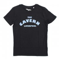 WORN FREE<p>ビートルズ<p>The Cavern Club Tシャツ - 黒