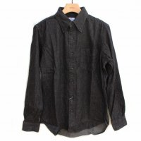 orSlow<p>Button Down Shirt<p>ボタンダウンシャツ<p>Black Denim