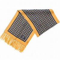 TOOTAL Circles Silk Scarf