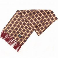 TOOTAL Mosaic Tiles Silk Scarf