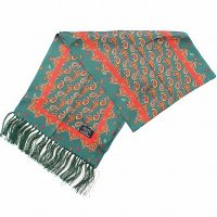 <img class='new_mark_img1' src='https://img.shop-pro.jp/img/new/icons47.gif' style='border:none;display:inline;margin:0px;padding:0px;width:auto;' />TOOTAL<p>Two Size Paisley Silk Scarf
