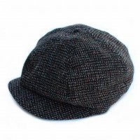 Nigel Cabourn<p>Hunting Cap - Wool<p>ウールハンチング - グレー