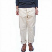 orSlow<p>French Work Pants - Ecru