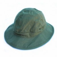 orSlow<p>US Navy Hat - Herringbone Twill Green