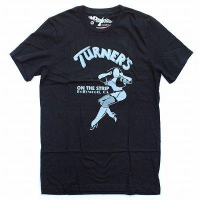 WORN FREEジョーンジェットTURNER'S Tシャツ - 黒
