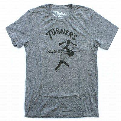 WORN FREEジョーンジェットTURNER'S Tシャツ - 霜降りグレー