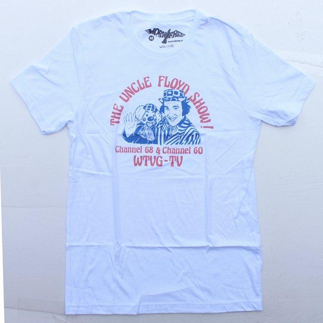 WORN FREEジョニーラモーン - ラモーンズUNCLE FLOYD Tシャツ - 白