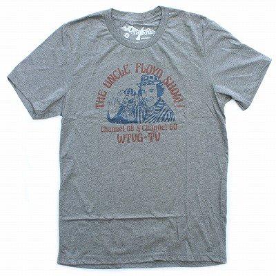 WORN FREEジョニーラモーン - ラモーンズUNCLE FLOYD Tシャツ - 霜降りグレー