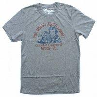 WORN FREE<br>ジョニーラモーン - ラモーンズ<br>UNCLE FLOYD Tシャツ - 霜降りグレー