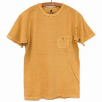 Nigel Cabourn - Basic T-Shirt<br>Pigment 顔料染 - イエロー