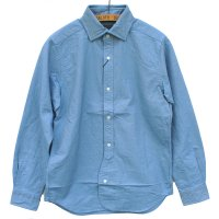 Nigel Cabourn<p>British Officer's Shirt - サックス