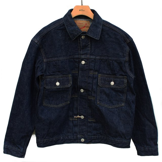 orSlow50s Denim Jacket -Denim One Wash