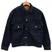 <img class='new_mark_img1' src='https://img.shop-pro.jp/img/new/icons5.gif' style='border:none;display:inline;margin:0px;padding:0px;width:auto;' />orSlow 50s Denim Jacket - Denim One Wash