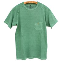 <img class='new_mark_img1' src='https://img.shop-pro.jp/img/new/icons5.gif' style='border:none;display:inline;margin:0px;padding:0px;width:auto;' />19ss Nigel Cabourn - Basic T-Shirt<br>Pigment 顔料染 - グリーン
