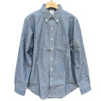<img class='new_mark_img1' src='https://img.shop-pro.jp/img/new/icons5.gif' style='border:none;display:inline;margin:0px;padding:0px;width:auto;' />19aw orSlow Button Down Shirt - Chambray