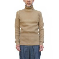 <img class='new_mark_img1' src='https://img.shop-pro.jp/img/new/icons5.gif' style='border:none;display:inline;margin:0px;padding:0px;width:auto;' />19aw Nigel Cabourn Turtle Neck Waffle - Camel