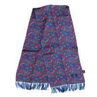 <img class='new_mark_img1' src='https://img.shop-pro.jp/img/new/icons5.gif' style='border:none;display:inline;margin:0px;padding:0px;width:auto;' />TOOTAL - Retro Paisley Silk Scarf