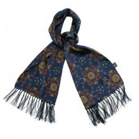 <img class='new_mark_img1' src='https://img.shop-pro.jp/img/new/icons47.gif' style='border:none;display:inline;margin:0px;padding:0px;width:auto;' />TOOTAL - Abstract Paisley Print Silk Scarf