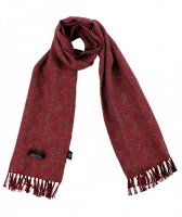 <img class='new_mark_img1' src='https://img.shop-pro.jp/img/new/icons5.gif' style='border:none;display:inline;margin:0px;padding:0px;width:auto;' />TOOTAL - Geometric Leaf Print Scarf - レーヨンモデル
