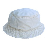 Nigel Cabourn x Lybro<p>BUCKET HAT - Off White