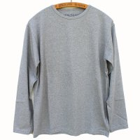 Nigel Cabourn - 40s US NAVY Long Sleeve T-shirt - Grey