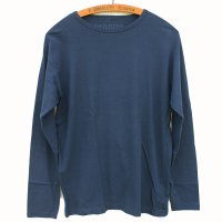 Nigel Cabourn - 40s US NAVY Long Sleeve T-shirt - Navy