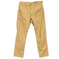 <img class='new_mark_img1' src='https://img.shop-pro.jp/img/new/icons5.gif' style='border:none;display:inline;margin:0px;padding:0px;width:auto;' />orSlow Slim Fit Fatigue Pants - Khaki