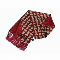 <img class='new_mark_img1' src='https://img.shop-pro.jp/img/new/icons47.gif' style='border:none;display:inline;margin:0px;padding:0px;width:auto;' />TOOTAL<br>Classic Paisley Silk Scarf<br>(ワイン)