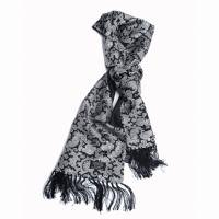 TOOTAL SILK SCARF/ FLORAL PAISELY