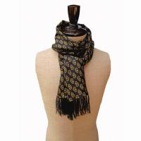 <img class='new_mark_img1' src='https://img.shop-pro.jp/img/new/icons47.gif' style='border:none;display:inline;margin:0px;padding:0px;width:auto;' />TOOTAL<br>Pikey Silk Scarf<br>(ライオンプリント 黒/ゴールド)