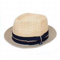 BLOCK HEADWEAR Peconic Straw Hat