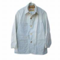 <img class='new_mark_img1' src='https://img.shop-pro.jp/img/new/icons24.gif' style='border:none;display:inline;margin:0px;padding:0px;width:auto;' />LEVI'S VINTAGE CLOTHING LVC EU 02SS<p>1917s サックコート Lot 71<p>ヒッコリーストライプ<p>Made in USA