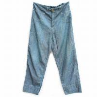 <img class='new_mark_img1' src='https://img.shop-pro.jp/img/new/icons47.gif' style='border:none;display:inline;margin:0px;padding:0px;width:auto;' />LEVI'S RED (リーバイスレッド) 2004SS<p>MERRY DYTHE<p>ワイドフィットシャンブレーパンツ