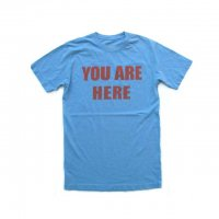 WORN FREE You Are Here Tシャツ