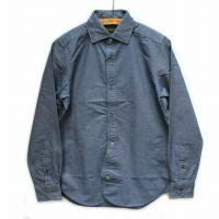 Nigel Cabourn<p>British Officer's Shirt - ネイビー