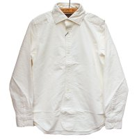 <img class='new_mark_img1' src='https://img.shop-pro.jp/img/new/icons5.gif' style='border:none;display:inline;margin:0px;padding:0px;width:auto;' />Nigel Cabourn<p>British Officer's Shirt - ホワイト