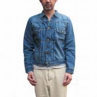 orslow<p>John's Denim Jacket<p>プリーテッドデニムジャケット -<p>Real Used