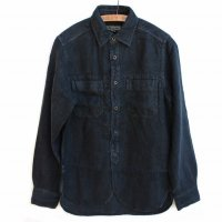Nigel Cabourn 1910s W Pocket Linen Shirt
