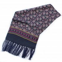 TOOTAL Medium Paisley Silk Scarf