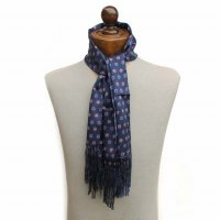 TOOTAL Rose Print Silk Scarf