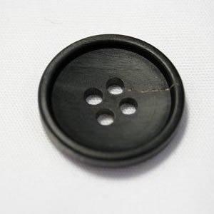 水牛ボタンK7000(COLOR.B) 20mm,15mmつや消し 紳士服スーツジャケット用ボタン