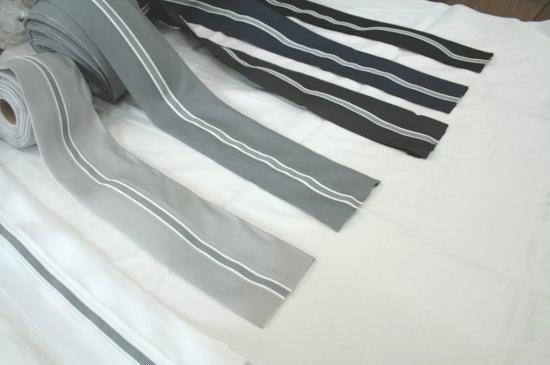 滑り止めゴム付腰裏(No.2300) オペロン付スーツやスラックスのズボンの腰の裏部分の生地