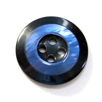 Rocky(ロッキー)ColorNo.1 (20mm・15mm)紳士服ボタンスーツ・ジャケット用ボタン